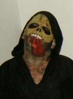 ghoul facepainting