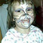 kitten facepainting